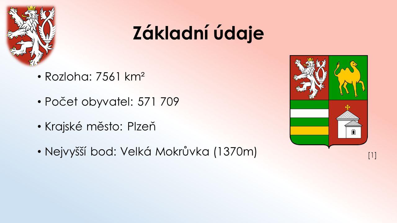 Základní údaje Okresy: Domažlice Klatovy Plzeň – jih Plzeň – město Plzeň – sever Rokycany Tachov [2][2]