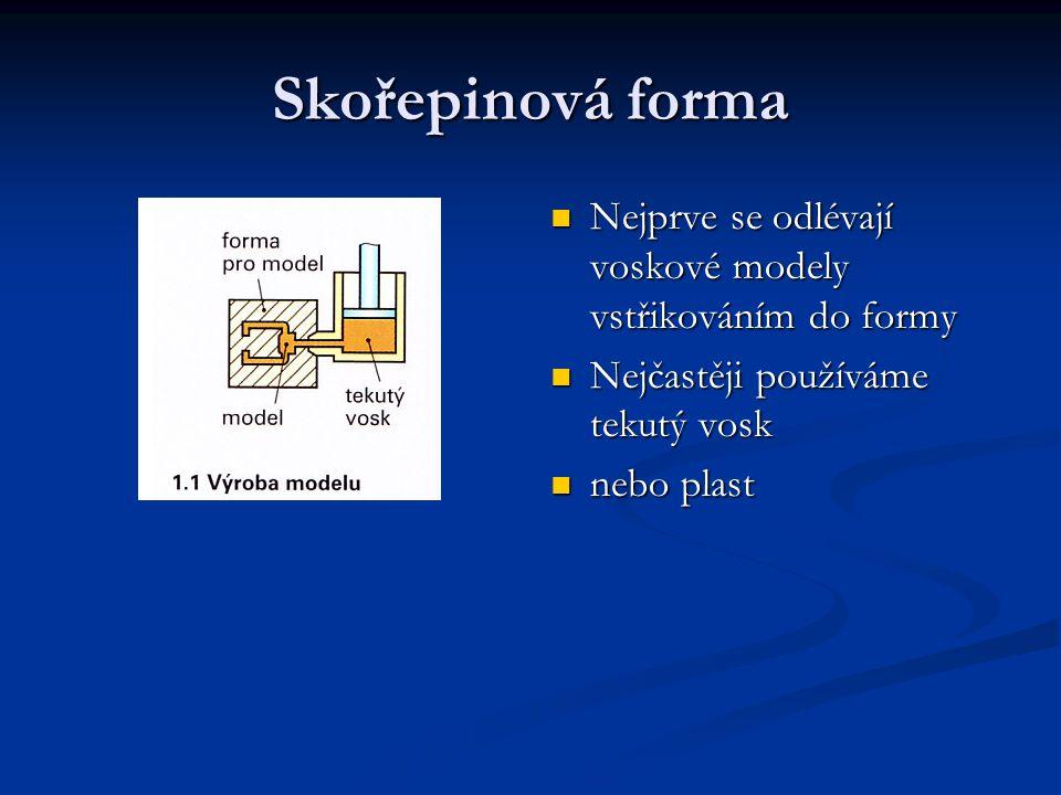 Několik modelů se složí Několik modelů se složí Společně s vtokovým kanálem a zářezy Společně s vtokovým kanálem a zářezy Do modelové sestavy - stromečku Do modelové sestavy - stromečku Montáž modelové sestavy