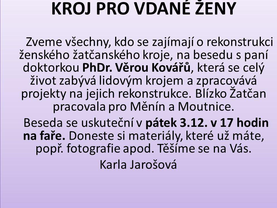 Mgr.Marie Jadrná, lékárna Palackého 384, Újezd u Brna, oznamuje, že se nepřestěhovala, od r.