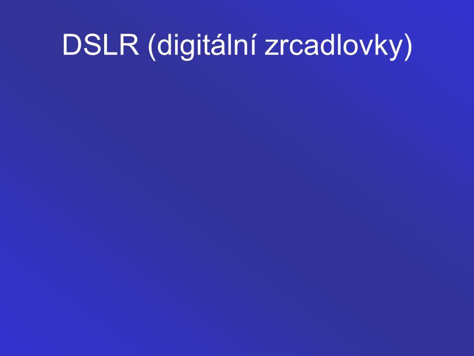 DSLR (digitální zrcadlovky)