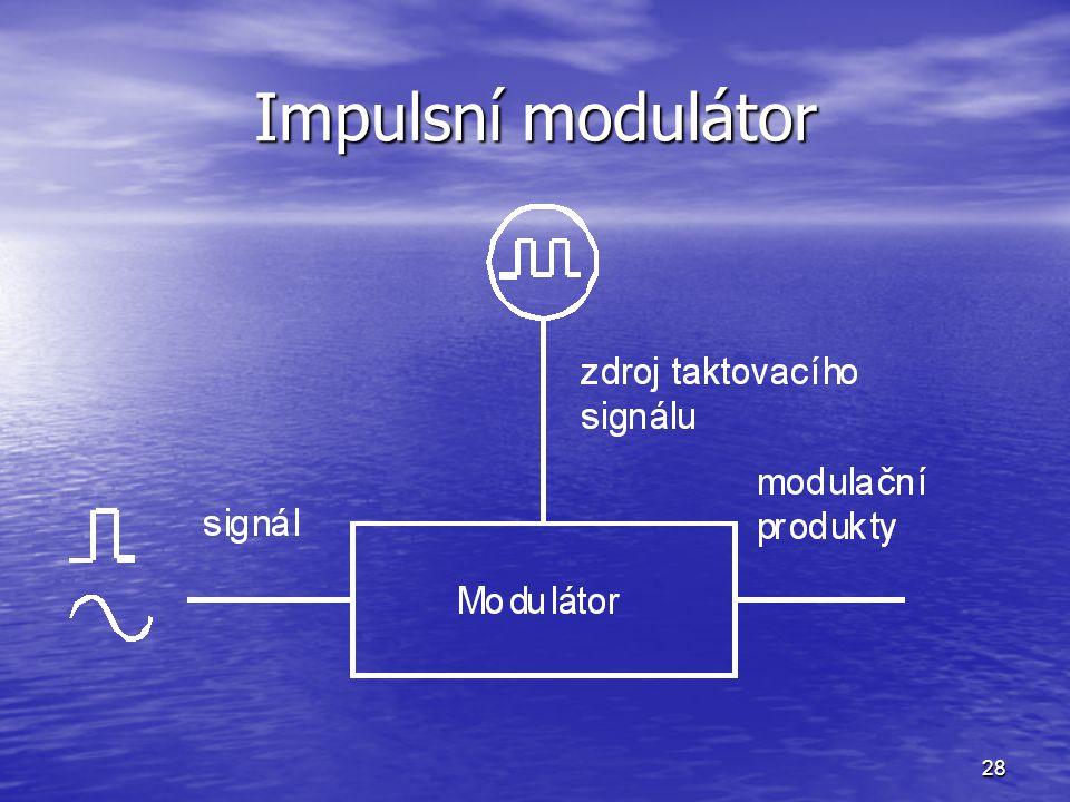 28 Impulsní modulátor