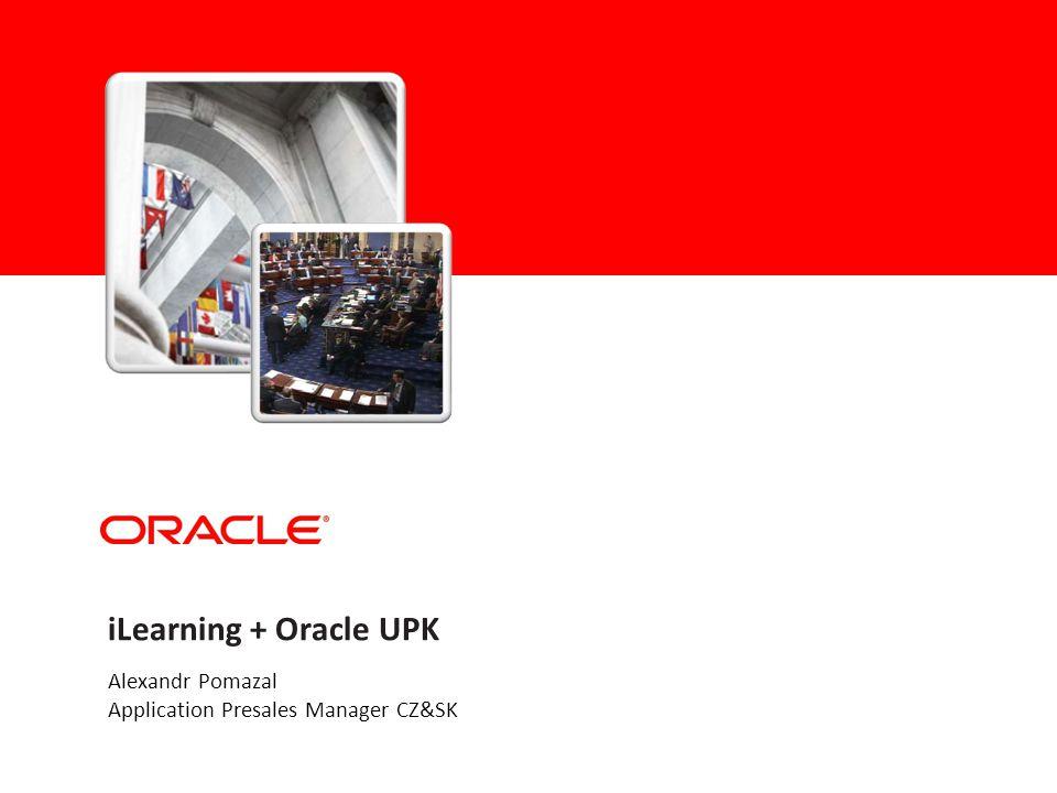 Agenda Oracle iLearning Oracle UPK