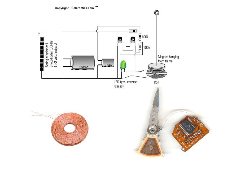 Šablona pro plošný spoj Vytisknutou šablonu přibijte na prkénko mosaznými hřebíčky, následně je vytáhněte a vývody součástek zakraťte, naohýbejte do děr a zajistěte znovu zaklepanými hřebíky (lze i zapájet).