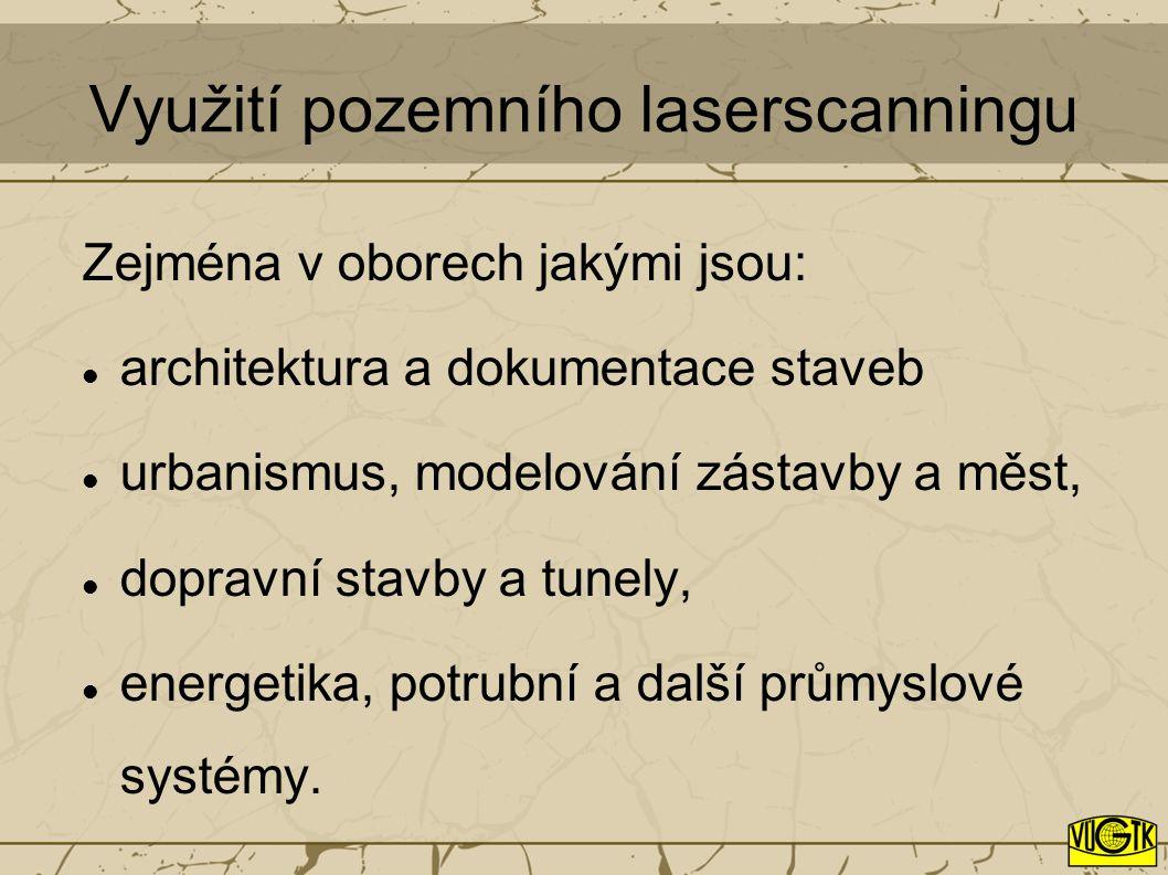 Výzkum uplatnění dat laserového skenování v katastru nemovitostí Děkuji za pozornost Ing.
