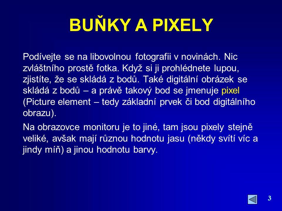 34 Rozlišení DPI OBRAZOVKA A TISKÁRNA Potřebné rozlišení záleží na účelu obrázku – na jeho využití.
