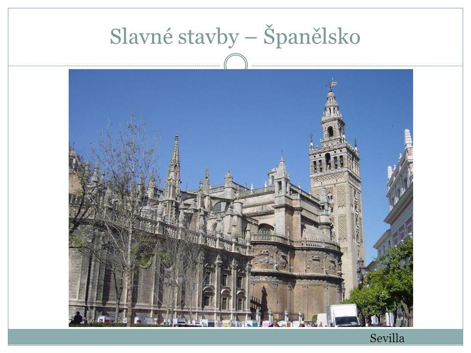 Sevilla Slavné stavby – Španělsko