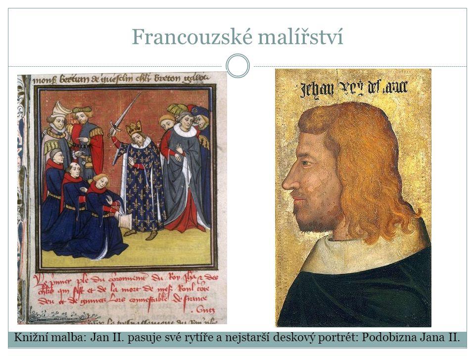 Francouzské malířství Knižní malba: Jan II.