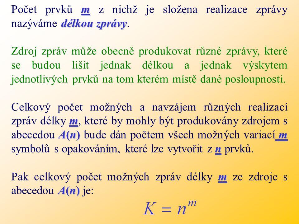 - Základem každého zdroje je ABECEDA.- Prvky abecedy zdroje se nazývají písmena abecedy.