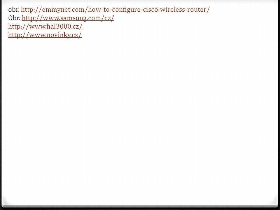 obr. http://emmynet.com/how-to-configure-cisco-wireless-router/http://emmynet.com/how-to-configure-cisco-wireless-router/ Obr. http://www.samsung.com/