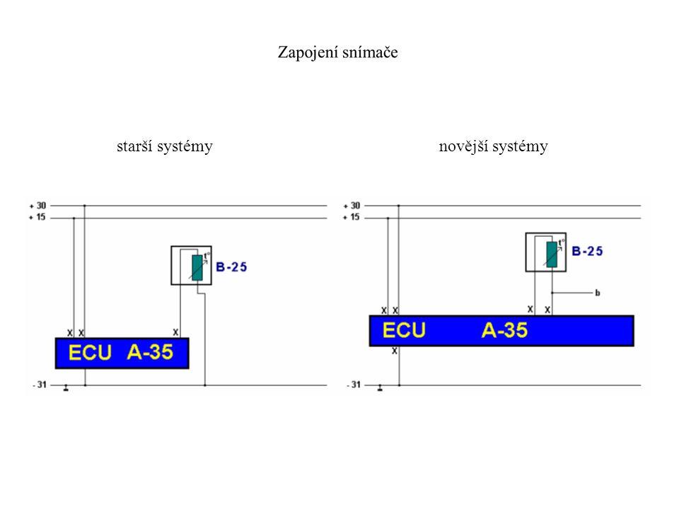 Snímač teploty integrovaný ve snímači tlaku