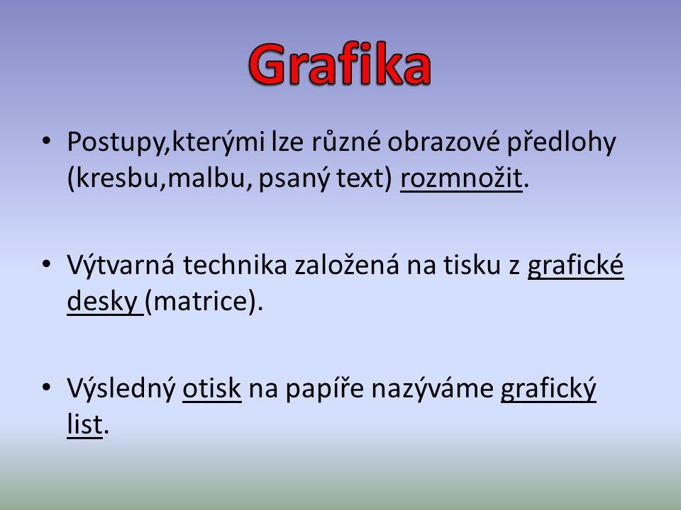 http://cs.wikipedia.org/wiki/Grafika Použitá literatura, zdroj: Baleka, J.