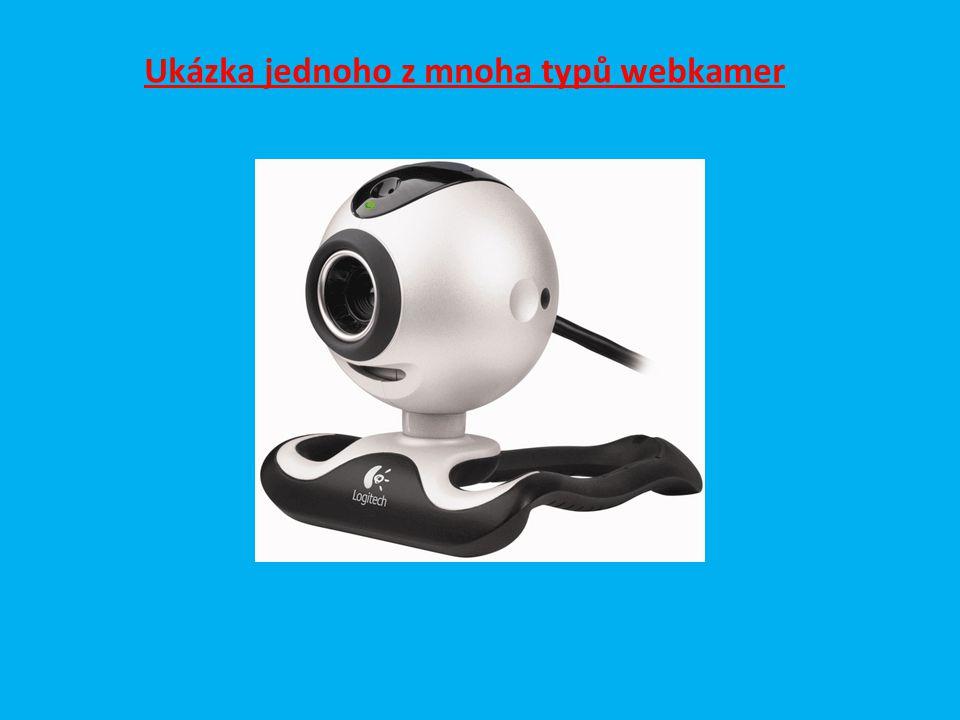 Ukázka jednoho z mnoha typů webkamer