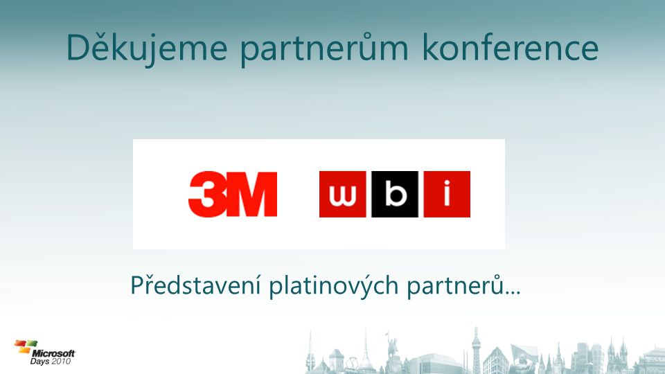 Microsoft Partner Network Petr Karásek obchodní a marketingový ředitel