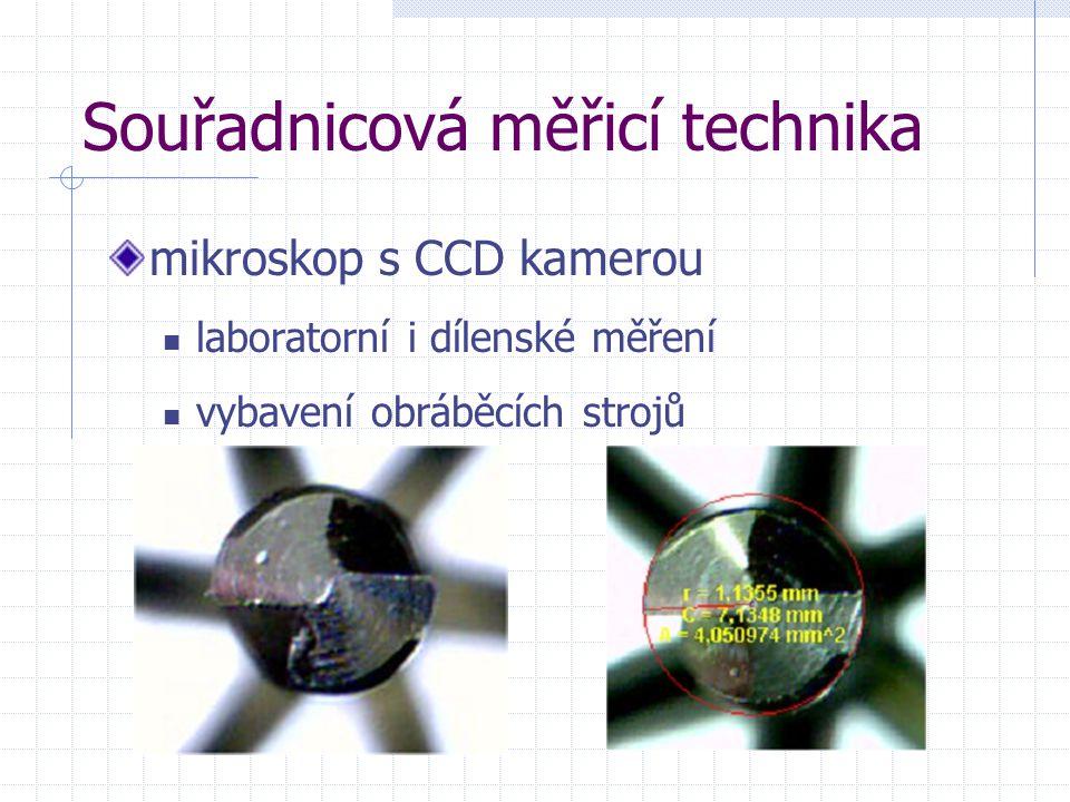 Souřadnicová měřicí technika mikroskop s CCD kamerou laboratorní i dílenské měření vybavení obráběcích strojů