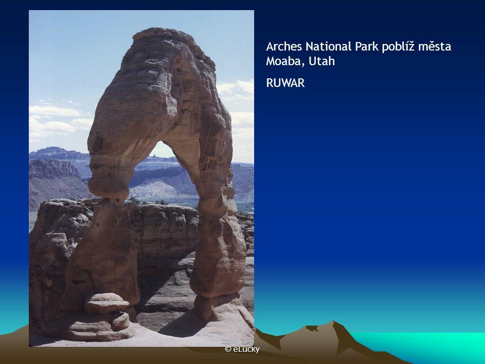 © eLucky Arches National Park poblíž města Moaba, Utah RUWAR