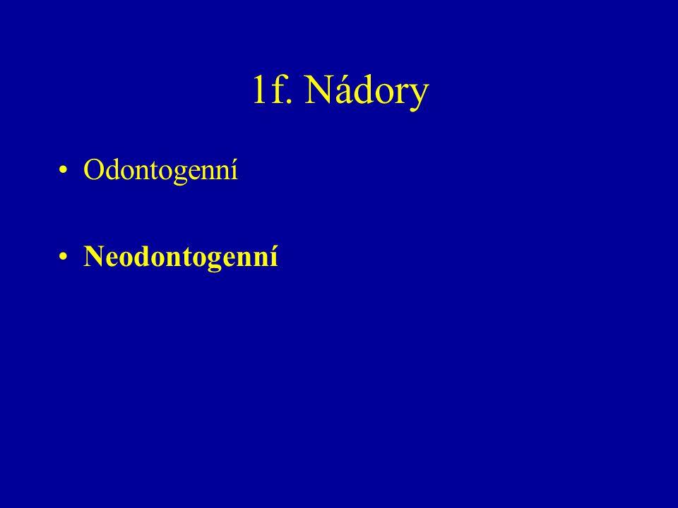 Odontogenní Neodontogenní