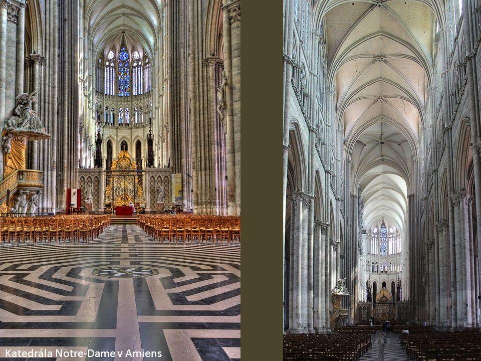 Katedrála Notre-Dame v Amiens
