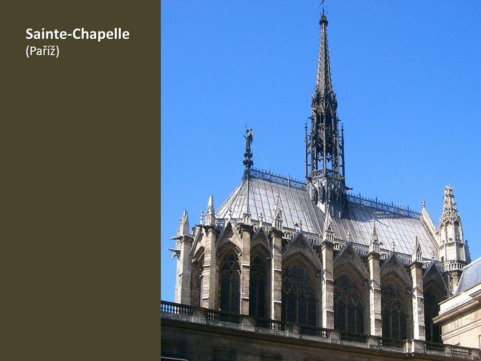 Sainte-Chapelle(Paříž)