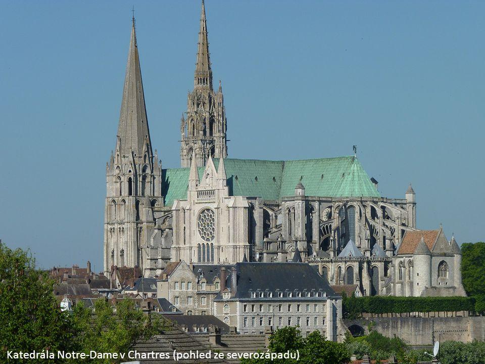 Klenba v katedrále v Chartres