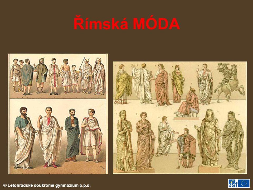 Římská MÓDA