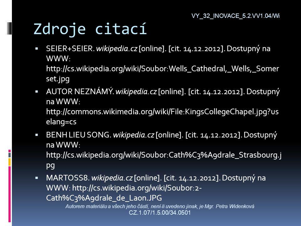 Zdroje citací  SEIER+SEIER. wikipedia.cz [online].