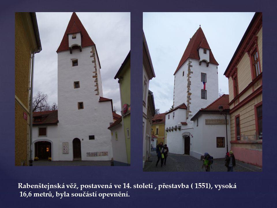 Původní budova zde stála ve 14.století, v 1872 zde krupaři postaven Přední mlýn.