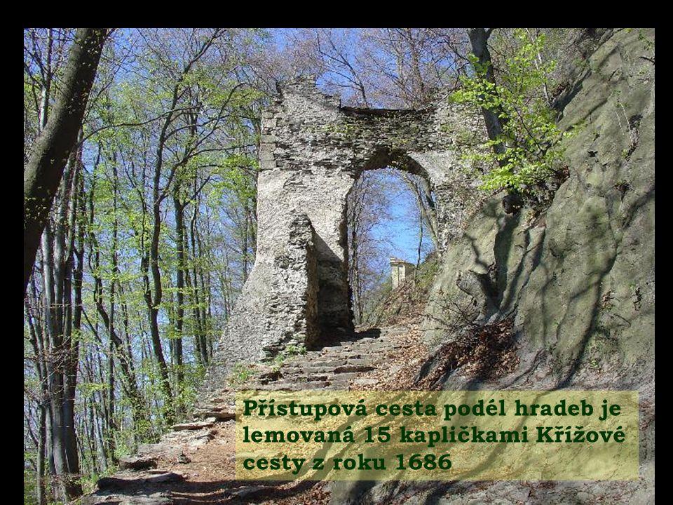 Roku 1279 zde byl vězněn kralevic Václav II.se svou matkou Kunhutou.
