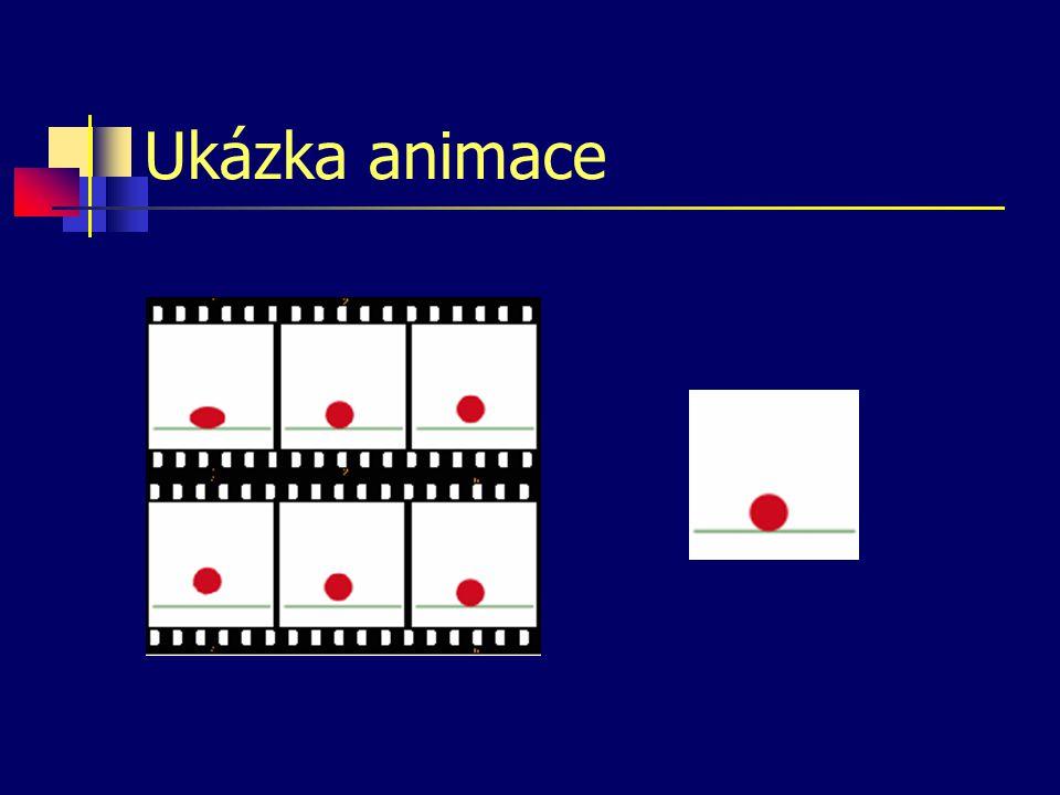 Ukázka animace