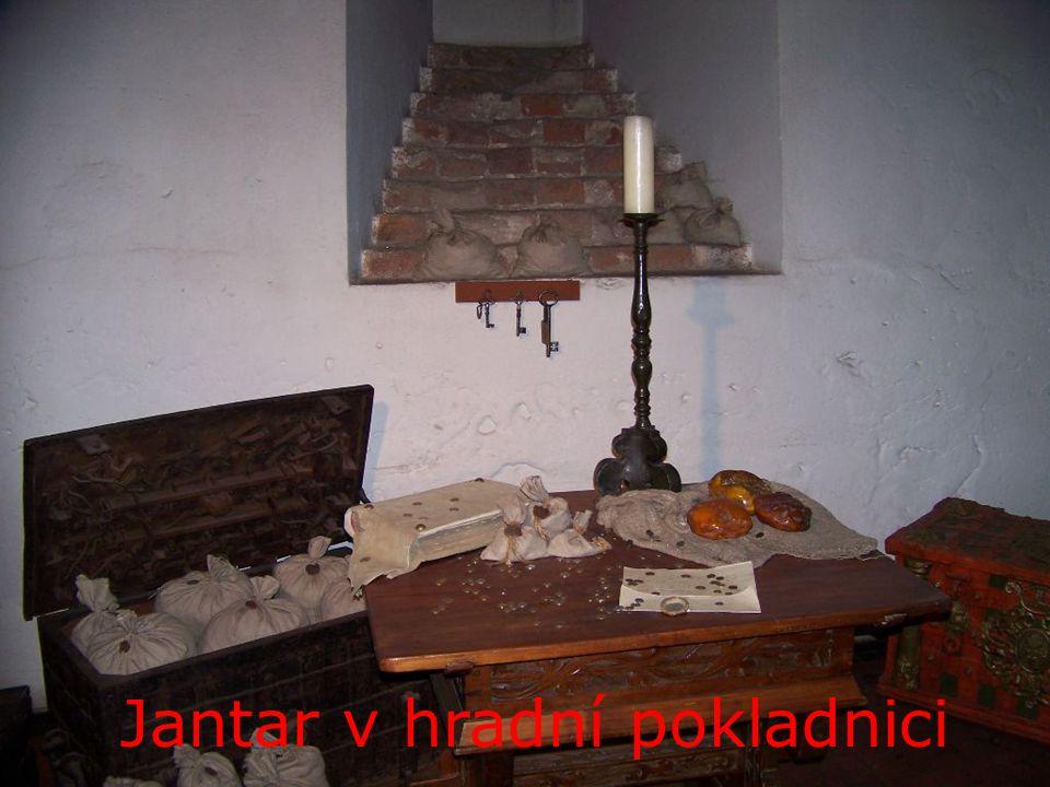 Jantar v hradní pokladnici