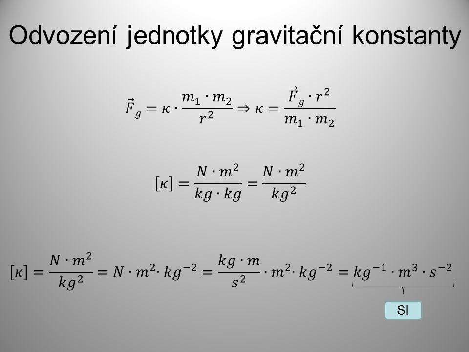 Gravitační síly působící na Zemi Jak velkými silami se navzájem přitahují Slunce ↔ Země a Země ↔ Měsíc .