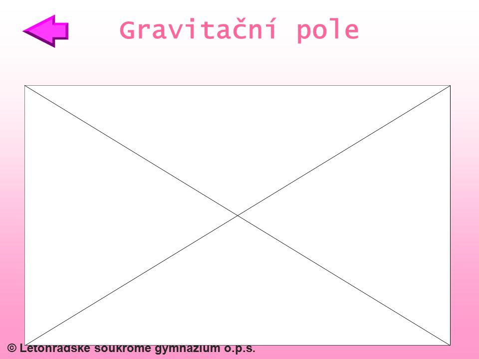 © Letohradské soukromé gymnázium o.p.s. Gravitační pole