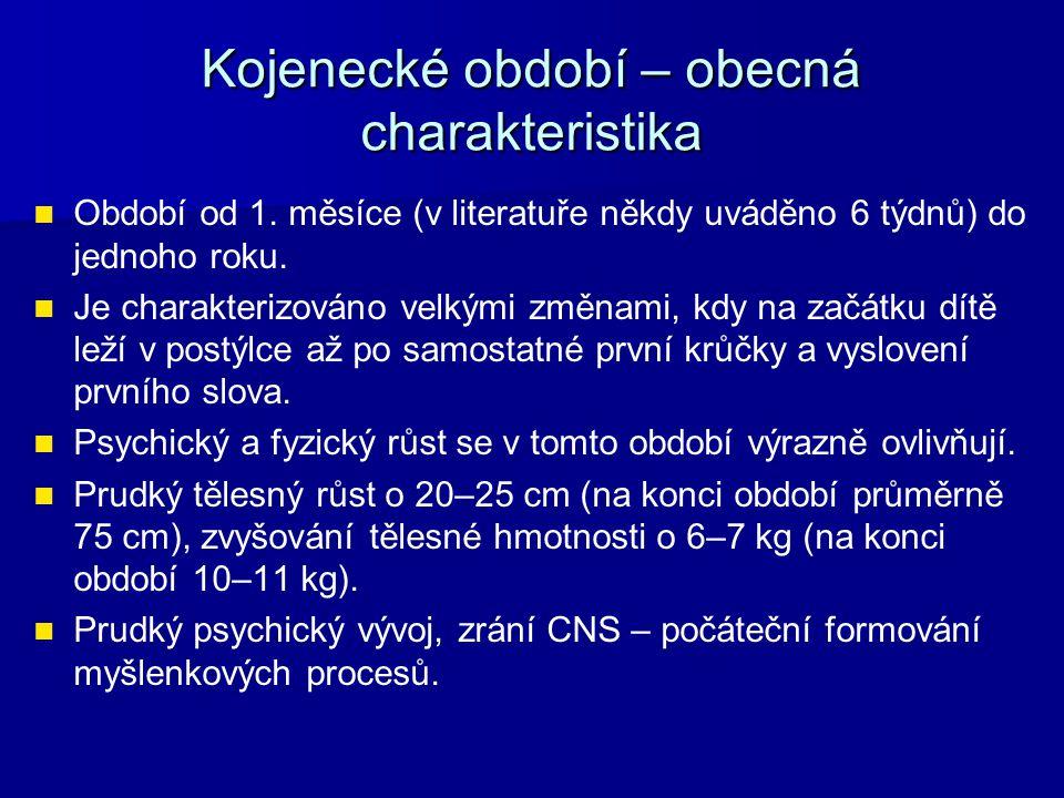 Význam kojeneckého období pro duševní vývoj Obr. č. 4