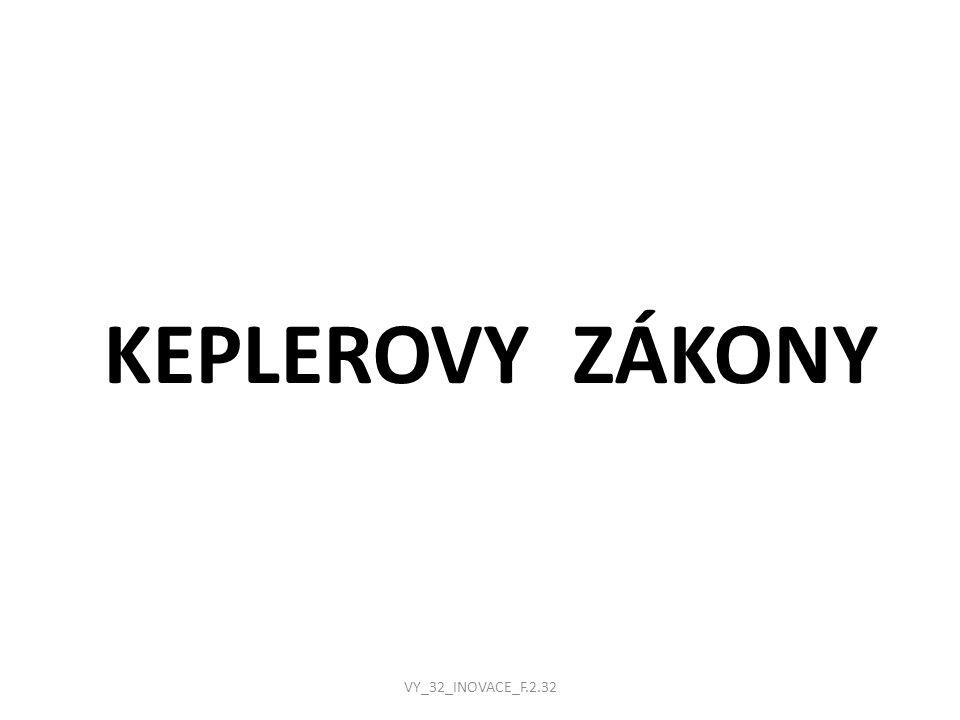 KEPLEROVY ZÁKONY VY_32_INOVACE_F.2.32