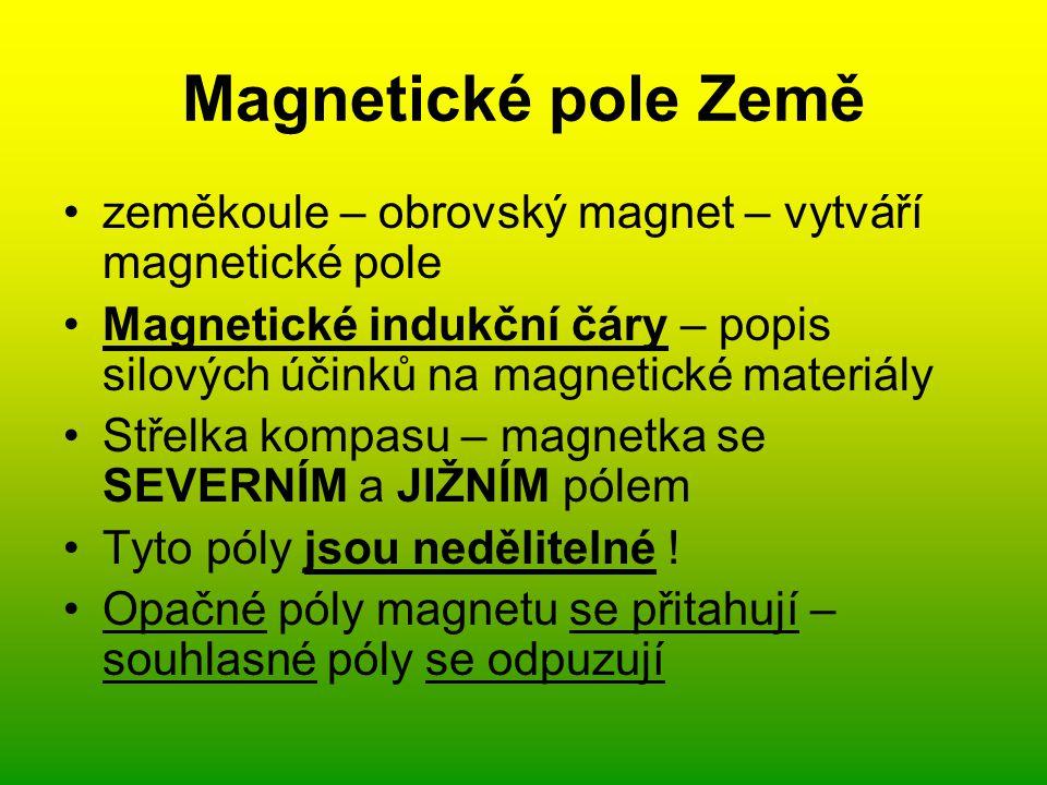 Magnetické pole Země [1][1]