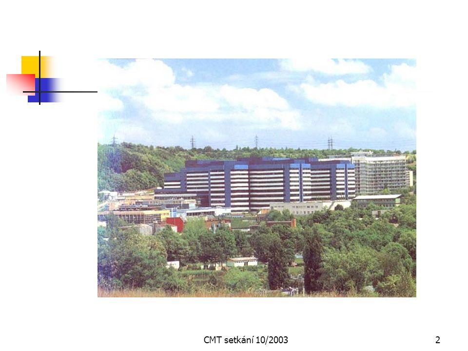 CMT setkání 10/20031 Srdečně vás všechny zdravíme na setkání C-M-T společnosti Klimkovice 11.10.2003