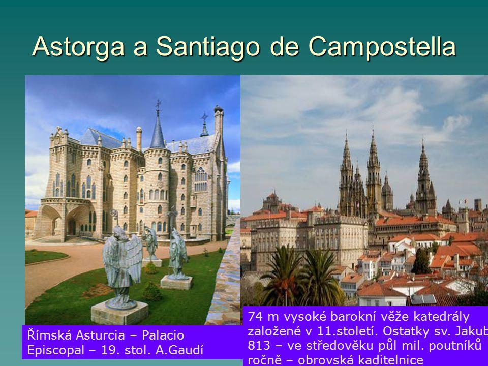 Astorga a Santiago de Campostella Římská Asturcia – Palacio Episcopal – 19.