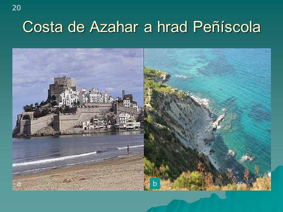 Costa de Azahar a hrad Peñíscola 20 ab
