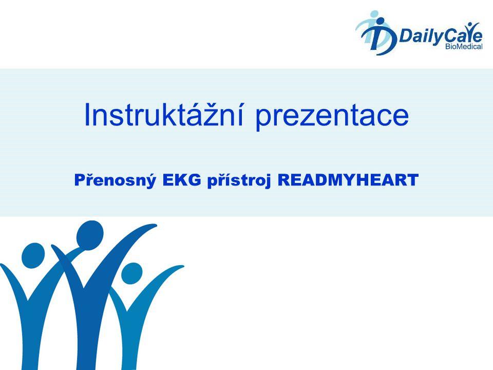 Instruktážní prezentace Přenosný EKG přístroj READMYHEART