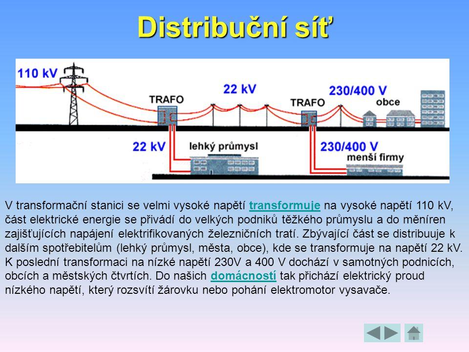 Proč se k dálkovému přenosu elektrické energie používá co nejvyšší napětí? Důvodem je snížení ztrát při přenosu. I nejlepší vodiče kladou elektrickému
