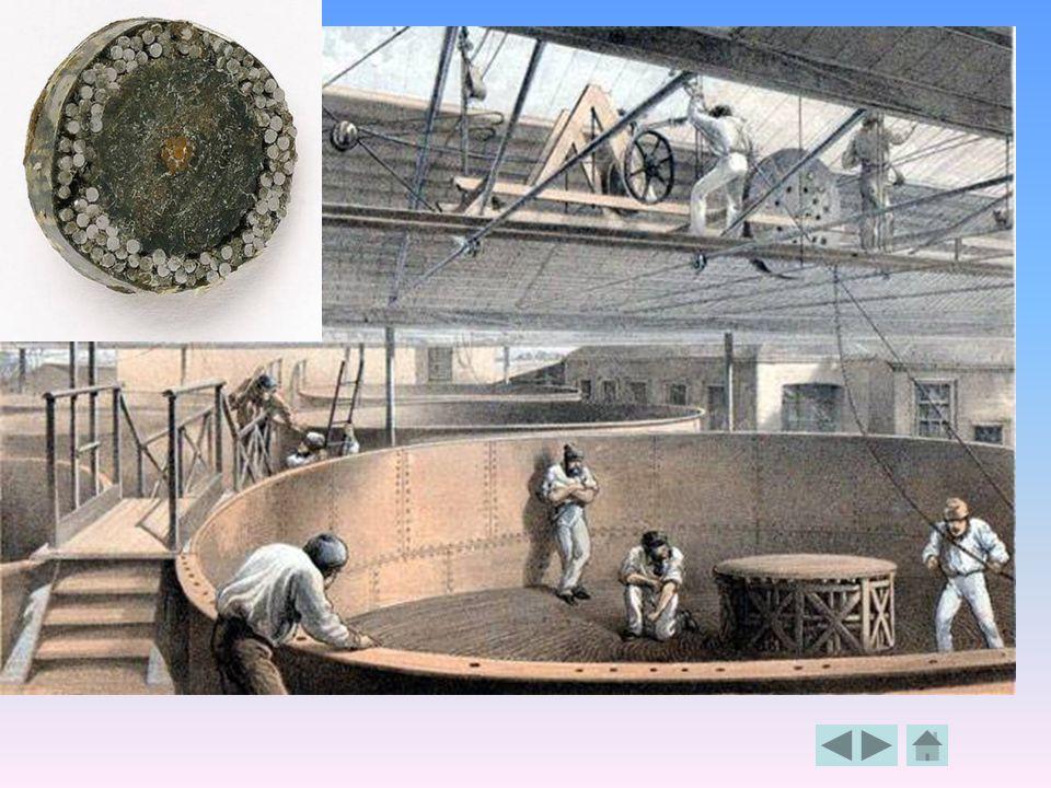 Mezikontinentální pod- oceánský kabelový spoj První byl mezi Kanadou a Irskem zprovozněn na pouhých 26 dní v roce 1858 měděným vedením. Dosažená rychl