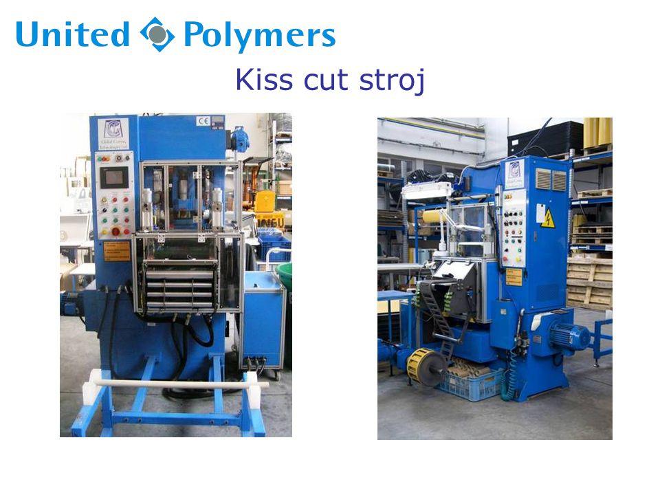 Kiss cut stroj