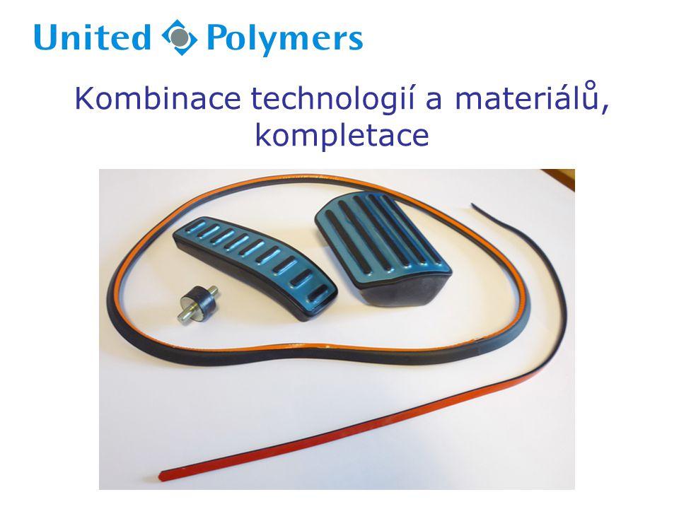 Kombinace technologií a materiálů, kompletace