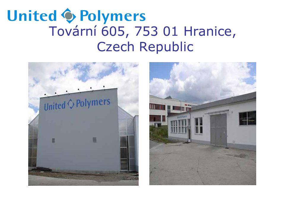 Tovární 605, 753 01 Hranice, Czech Republic