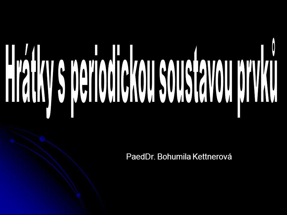 PaedDr. Bohumila Kettnerová