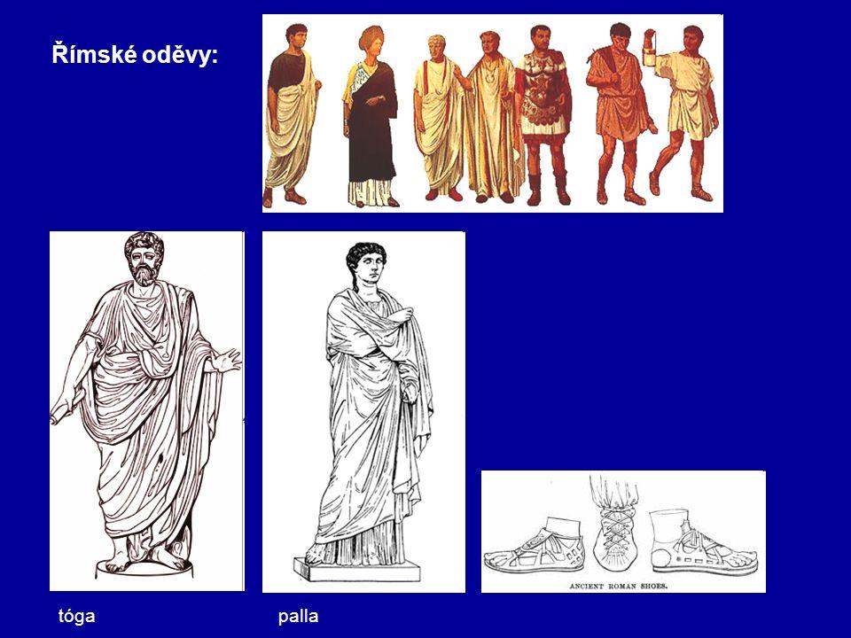Římské oděvy: tógapalla
