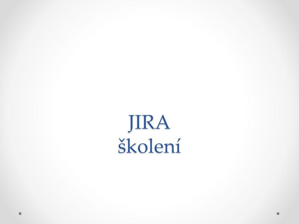 JIRA školení