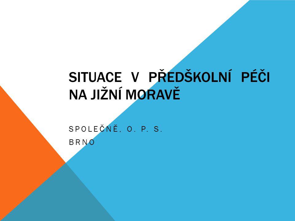 1.situace v Jihomoravském kraji 2. projekt Harmonizace při opatrování dětí 3.