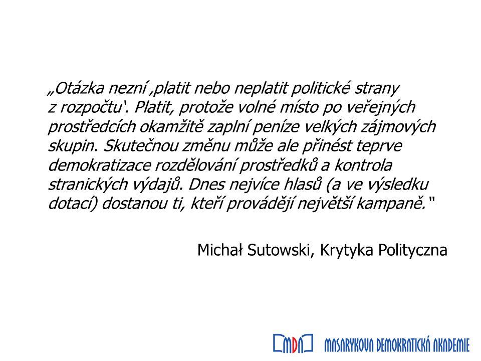 Ústava RP -financování politických stran je veřejné -poslanec nemůže vykonávat hospodářskou činnost, ve které by měl příjem ze státního rozpočtu nebo rozpočtu místní samosprávy, a nemůže nabývat jejich majetek -volební období Sejmu (460 poslanců) i Senátu (100 senátorů) je čtyřleté -Sejm může hlasy 2/3 poslanců zkrátit své volební období, což platí i pro volební období Senátu -volby do Sejmu i Senátu se konají ve stejném termínu
