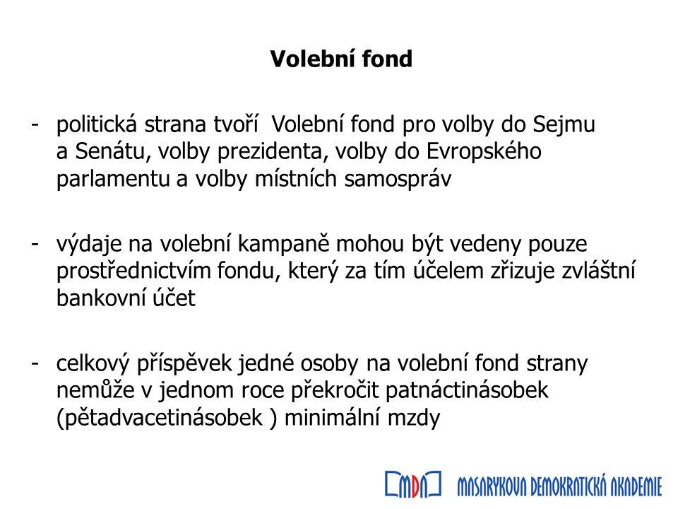Limity na volební kampaně Státní volební kancelář (Státní volební komise) všechny obvody ve volbách do Sejmu i Senátu -Právo a spravedlnost (30 281 682,21 zł) jeden senátní obvod -KWW Cimoszewicz do Senatu (55 102,13 zł)