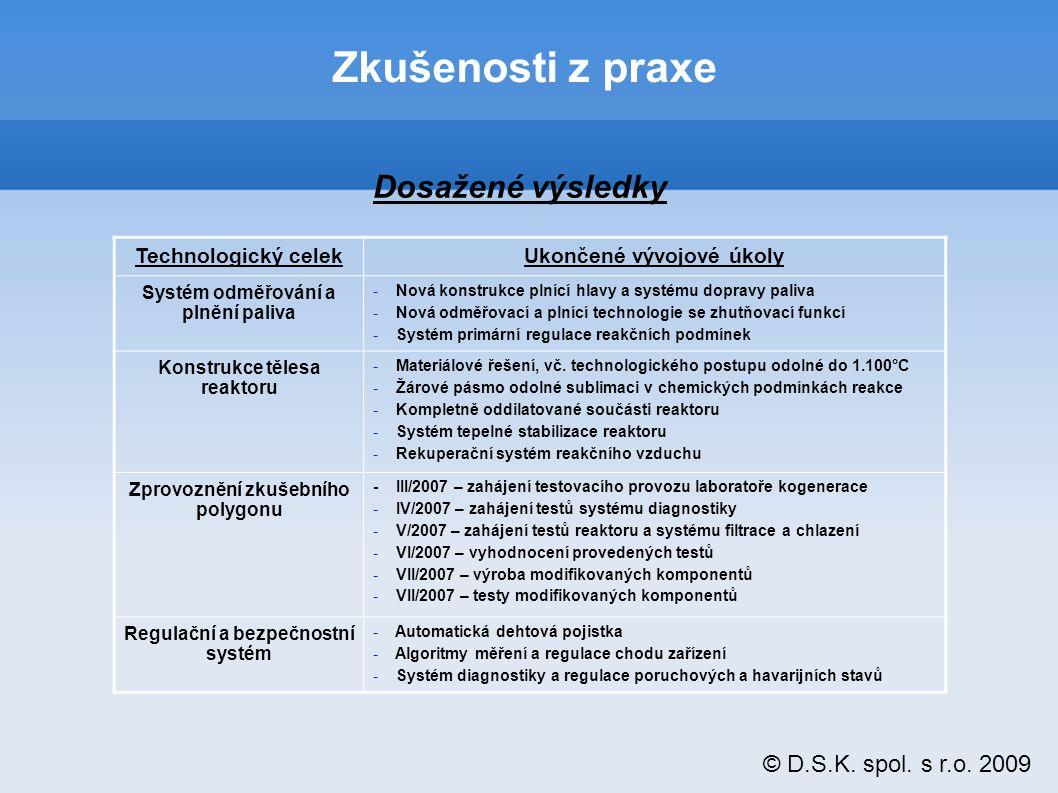 © D.S.K. spol. s r.o. 2009 Budoucí vize
